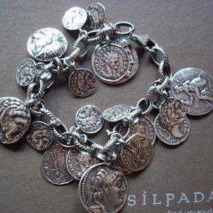 Silpada Coin Bracelet